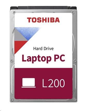 "TOSHIBA HDD L200 Laptop PC (SMR) 1TB, SATA III, 5400 rpm, 128MB cache, 2,5\"", 7mm, RETAIL"