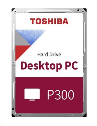 "TOSHIBA HDD P300 Desktop PC (CMR) 500GB, SATA III, 7200 rpm, 64MB cache, 3,5"", BULK"