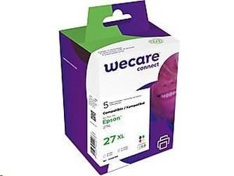 WECARE ARMOR cartridge pro Epson WF 3620 (27XL), sada 2xBK+CMY, 2x21ml/3x12ml