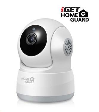 iGET HOMEGUARD HGWIP711 - bezdrátová otočná IP HD kamera 720p, IR LED, microSD slot