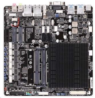 GIGABYTE MB N3160TN, Quad-Core Celeron® N3160 (1.6 GHz), Intel N3160, 2xDDR3L SO-DIMM, VGA, Thin Mini-ITX