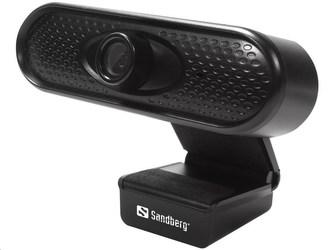 Sandberg USB kamera Webcam 1080p HD, černá