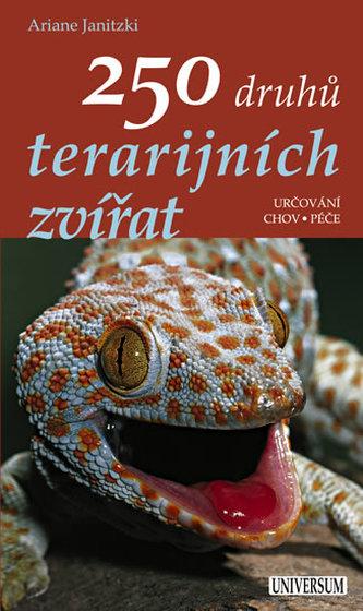 250 druhů terarijních zvířat