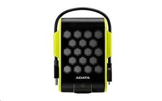 """ADATA Externí HDD 2TB 2,5\"""" USB 3.1, DashDrive™ Durable HD720, G-sensor, zelený, (gumový, vodě/nárazu odolný)"""