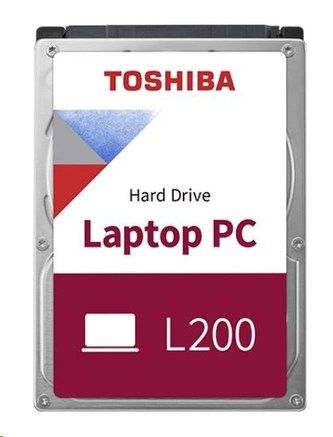 "TOSHIBA HDD L200 Mobile (CMR) 500GB, SATA III, 5400 rpm, 8MB cache, 2,5"", 7mm, BULK"
