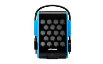 "ADATA Externí HDD 1TB 2,5\"" USB 3.1, DashDrive™ Durable HD720, G-sensor, modrý, (gumový, vodě/nárazu odolný)"