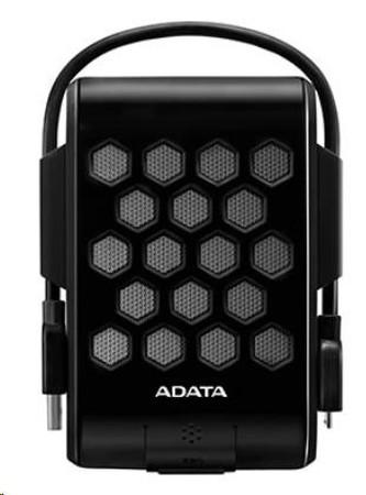 "ADATA Externí HDD 1TB 2,5\"" USB 3.1, DashDrive™ Durable HD720, G-sensor, černý, (gumový, vodě/nárazu odolný)"