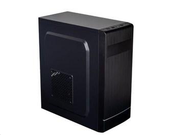 EUROCASE skříň ML X301 EVO black, micro tower, 1x USB 3.0, 2x USB 2.0, bez zdroje