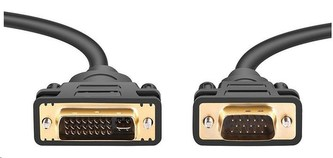 PremiumCord DVI-VGA kabel 2m
