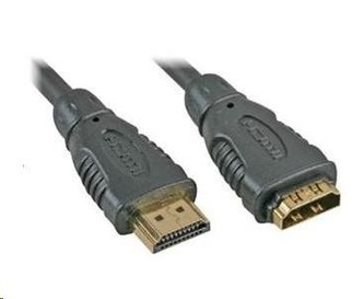 PREMIUMCORD Kabel prodlužovací HDMI - HDMI 3m, zlacené konektory