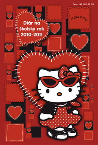 Hello Kitty Školský diár 2010/2011