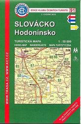 KČT 91 Slovácko, Hodonínsko 1:15 000