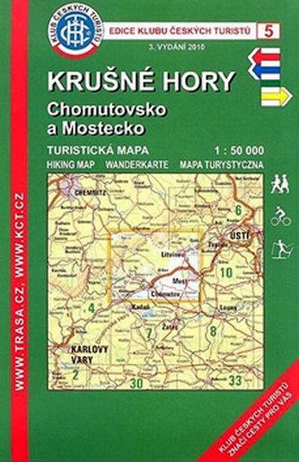 KČT  5 Krušné Hory, Chomutovsko a Mostecko