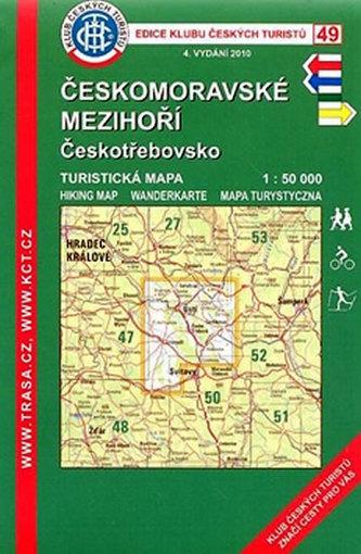 KČT 49 Českomoravské mezihoří Českotřebovsko