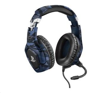TRUST sluchátka GXT 488 Forze-B PS4 Gaming Headset - Sony Licensed - blue