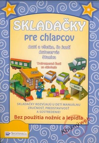 Skladačky pre chlapcov - autá, autoservis a stanica - Krzyźanek, Zbigniew Dobosz Małgorzata