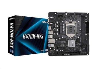 ASRock MB Sc LGA1200 H470M-HVS, Intel H470, 2xDDR4, 1xHDMI, 1xVGA, mATX