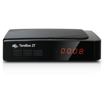 DVB-T přijímač AB CRYPTOBOX AB TereBox 2T HD DVB-T2 přijím