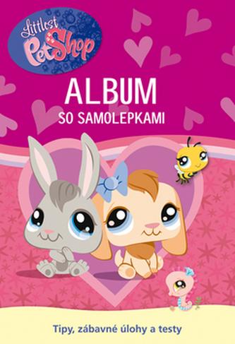 Littlest Pet Shop Album so samolepkami