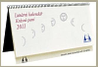 Lunární kalendář Krásné paní 2011
