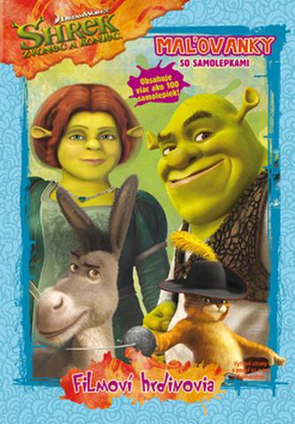 Shrek 4 Mažovanky so samolepkami