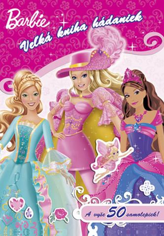 Barbie Vežká kniha hádaniek so samolepkami