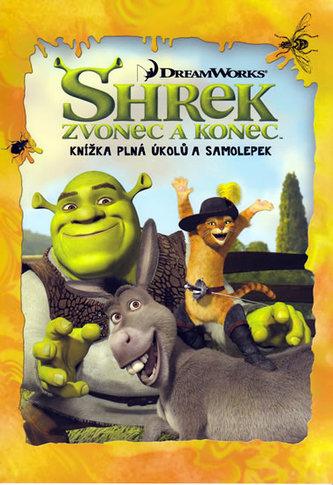 Shrek Zvonec a konec Knížka plná úkolů a samolepek
