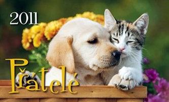 Přátelé 2011 - stolní kalendář