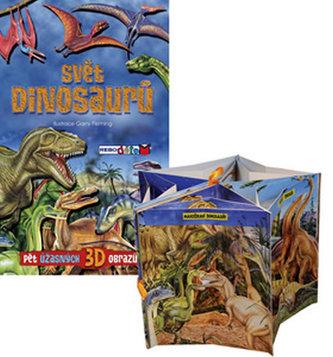 Svět dinosaurů - Pět úžasných 3D obrazů!