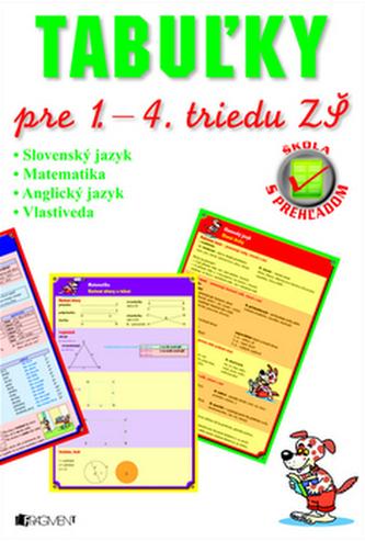 Tabuľky pre 1. – 4. triedu ZŠ