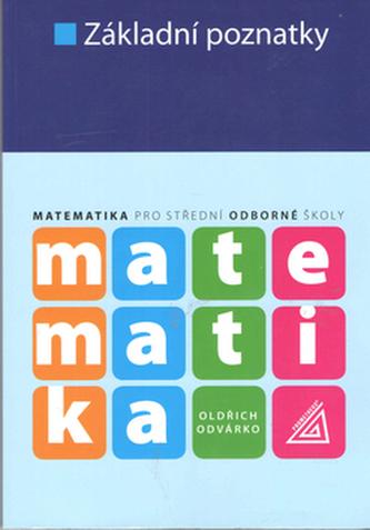 Základní poznatky Matematika pro SOŠ