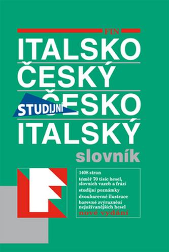 Italsko-český a česko-italský slovník studijní