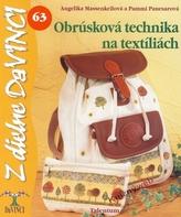 Obrúsková technika na textíliách