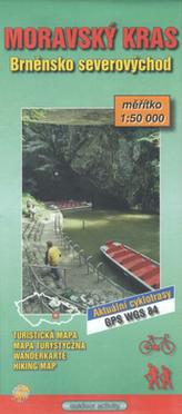 Moravský Kras 1:50 000