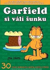 Garfield si válí šunku