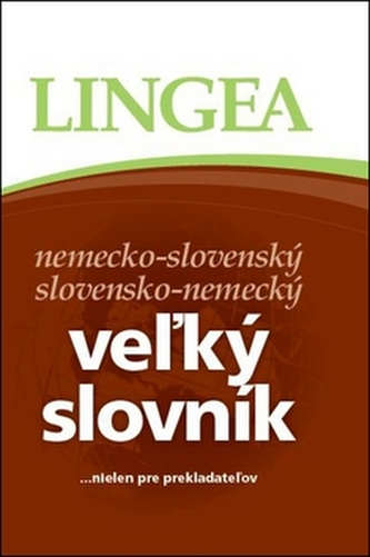 Veľký slovník nemecko-slovenský slovensko-nemecký
