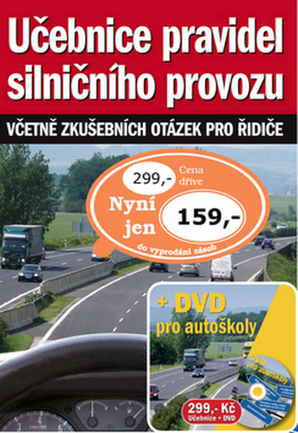 Učebnice pravidel silničního provozu + DVD nejen pro řidiče
