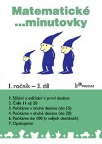 Matematické minutovky pro 1. ročník 3. díl