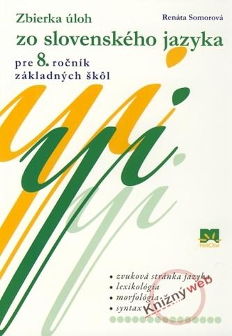 Zbierka úloh zo slovenského jazyka pre 8. ročník základných škôl