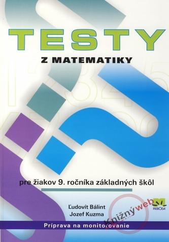Testy z matematiky pre žiakov 9. ročníka základných škôl