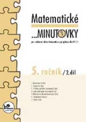 Matematické minutovky pro 5. ročník/ 2. díl