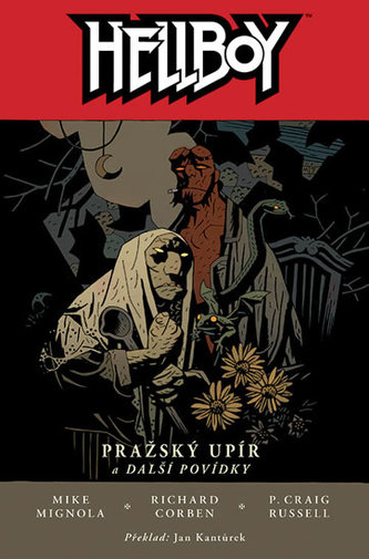 Hellboy Pražský upír a další povídky