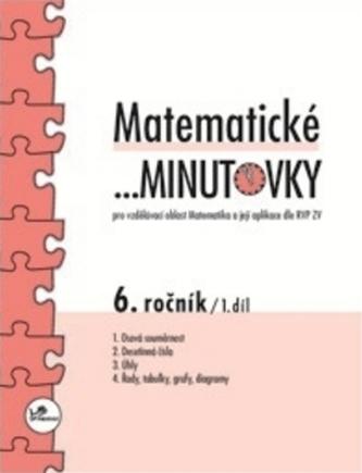 Matematické minutovky 6.ročník 1.díl - Miroslav Hricz