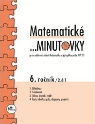 Matematické minutovky 6.ročník 2.díl - Miroslav Hricz