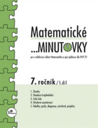 Matematické minutovky pro 7.ročník 1. díl - Miroslav Hricz