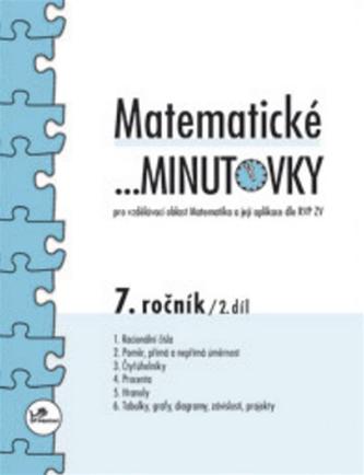 Matematické minutovky pro 7.ročník 2.díl - Miroslav Hricz