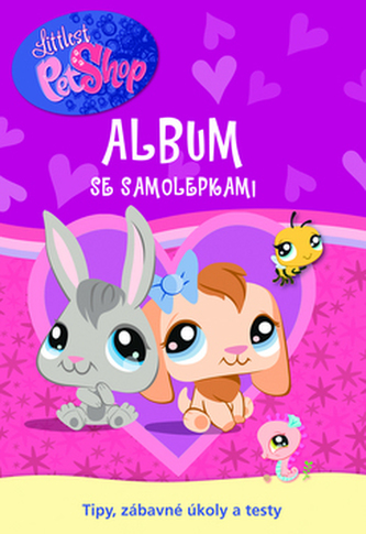 Little Pet Shop Album se samolepkami