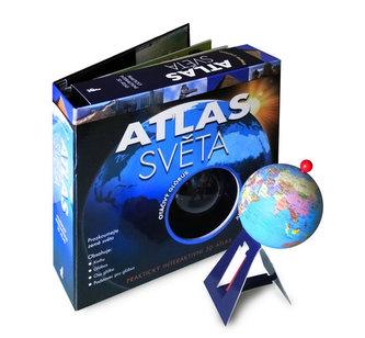 Atlas světa a otáčivý glóbus
