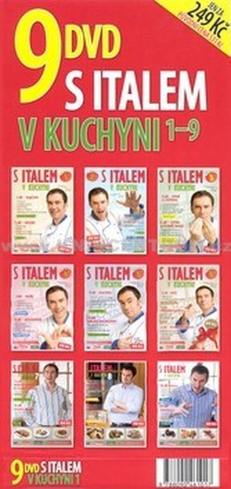 S Italem v kuchyni 9 DVD Sada 1- 9