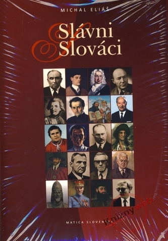 Komplet 2ks Slávni Slováci